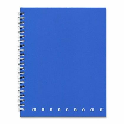 Obrázok produktu Pigna Monocromo - krúžkový blok - A5, 70 l., linajkový