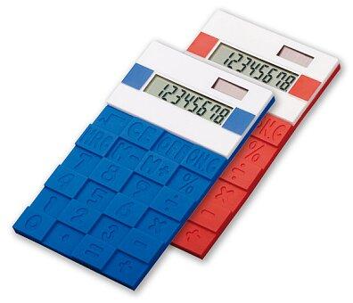 Obrázek produktu Funix - silikonová kancelářská kalkulačka, výběr barev