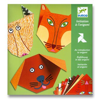 Obrázek produktu Origami skládačka Djeco - Zvířátka