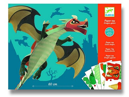Obrázek produktu Origami skládačka Djeco - Velký drak