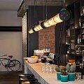 Závěsné světlo In the Tube - Restaurace Marlon, Paříž