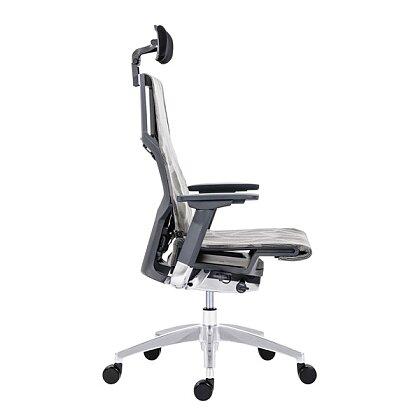 Obrázek produktu Antares Pofit - inteligentní kancelářská židle - šedá, šedý rám