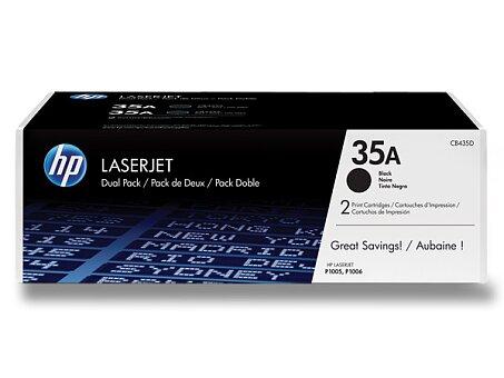 Obrázek produktu Toner HP CB435AD dual pack pro laserové tiskárny - 2 x CB435A
