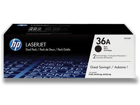 Obrázek produktu Toner HP CB436AD dual pack pro laserové tiskárny - 2 x CB436A