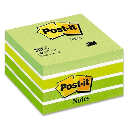 Obrázek produktu 3M Post-it 2028B Aquarelle - samolepicí bloček - 76×76 mm, Aquarelle Green
