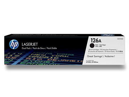 Obrázek produktu Toner HP CE310AD dual pack pro laserové tiskárny - 2 x CE310A