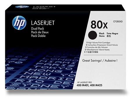 Obrázek produktu Toner HP CF280XD dual pack pro laserové tiskárny - 2 x CF280X