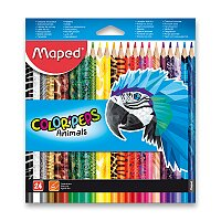 Pastelky Maped Color'Peps Animals