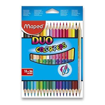 Obrázek produktu Pastelky Maped Color'Peps Duo - oboustranné pastelky, 36 barev