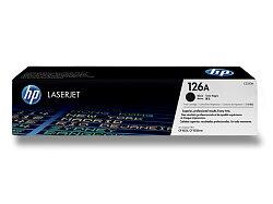 Toner HP CE310A č. 126A pro laserové tiskárny
