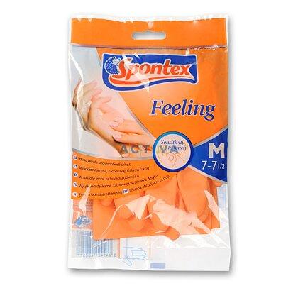 Obrázek produktu Spontex Feeling - úklidové rukavice, velikost M