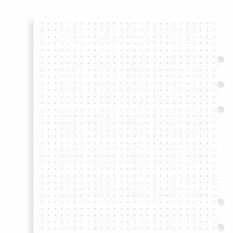 Obrázek produktu Tečkovaný papír - náplň A5 k diářům Filofax