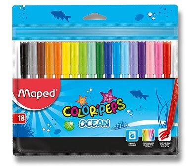 Obrázek produktu Dětské fixy Maped Color'Peps Ocean - 18 barev