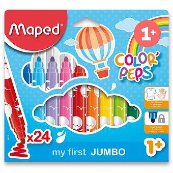 Obrázek produktu Dětské fixy Maped Color'Peps Jumbo - 24 barev