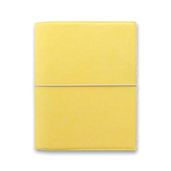 Obrázek produktu Diář A5 Filofax Domino Soft - pastelově žlutá