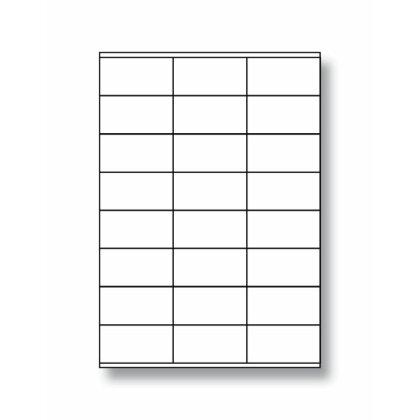 Obrázok produktu OA - samolepiace etikety - 70,0×36,0 mm, 2400 etikiet