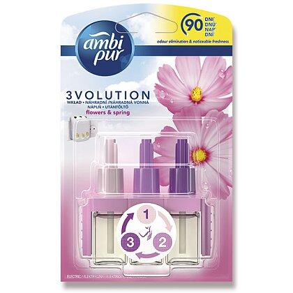 Obrázek produktu Ambi Pur 3 Volution - náplň do el. osvěžovače vzduchu - Flowers & Spring, 20 ml