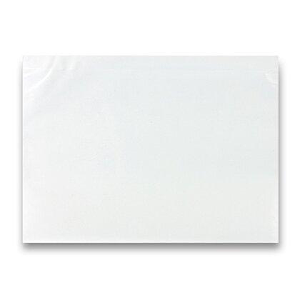 Obrázek produktu Expediční samolepicí obálka - 230 × 170 mm, C5, transparentní, 100 ks