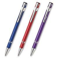 Limet - kovová kuličková tužka, výběr barev