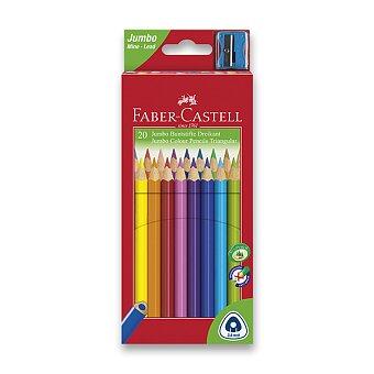 Obrázek produktu Pastelky Faber-Castell Junior Triangular - 20 barev + ořezávátko