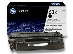 Toner HP Q7553X č. 53X pro laserové tiskárny
