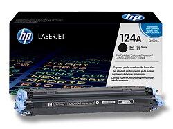 Toner HP Q6000A- black (černý) č. 124A pro laserové tiskárny
