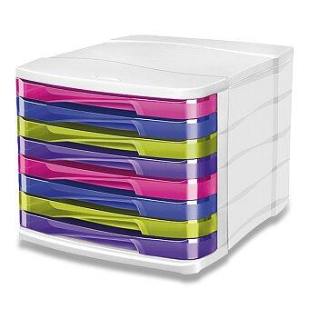 Obrázek produktu Zásuvkový box CEP Pro Happy - 8 zásuvek, vícebarevný