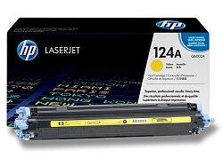 Toner HP Q6002A č. 124A pro laserové tiskárny