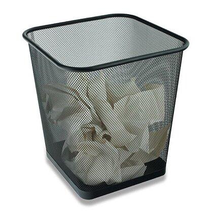 Obrázek produktu Cube - hranatý kovový koš na odpad - 15 l