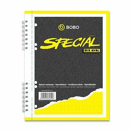 Obrázok produktu Bobo Blok - krúžkový blok - formát A5