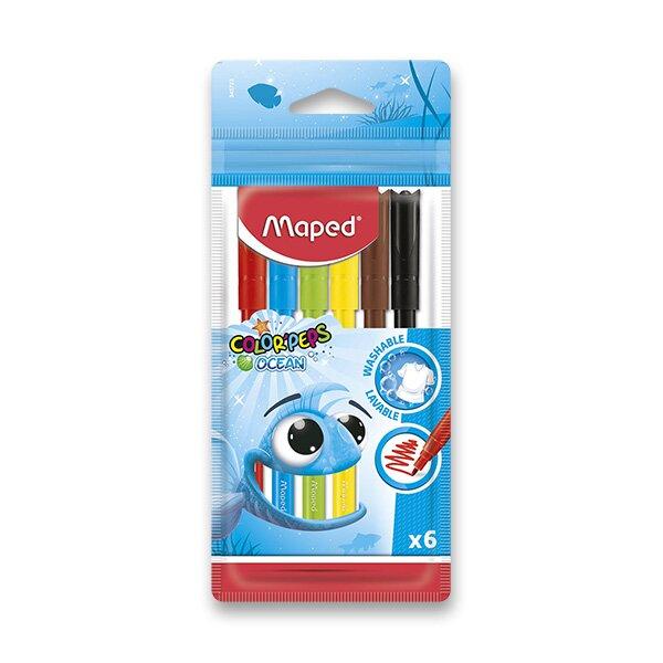 Dětské fixy Maped Color'Peps Ocean 6 barev
