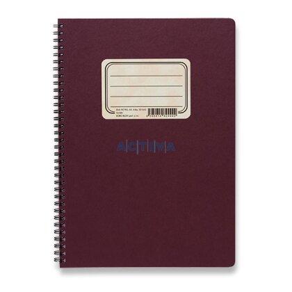 Obrázok produktu Bobo blok Retro - krúžkový blok - A4, 50 l., linajkový