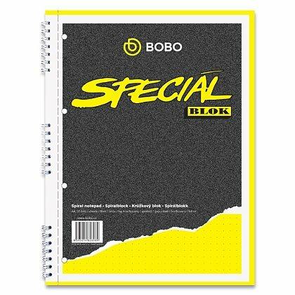 Obrázok produktu Bobo Blok - krúžkový blok - formát A4