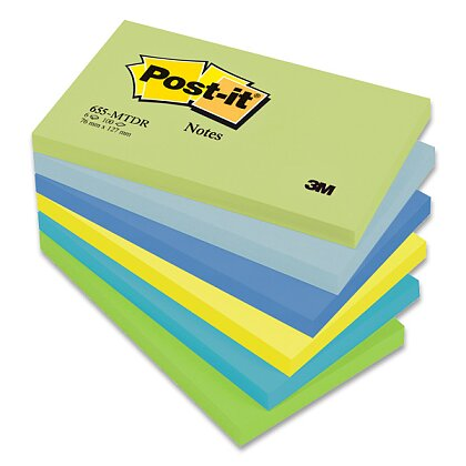 Obrázek produktu 3M Post-it 655 Pastel - samolepicí bloček - 76×127 mm, Mint