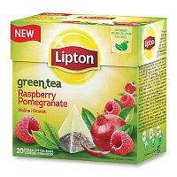 Zelený čaj Lipton Raspberry Pomegranate