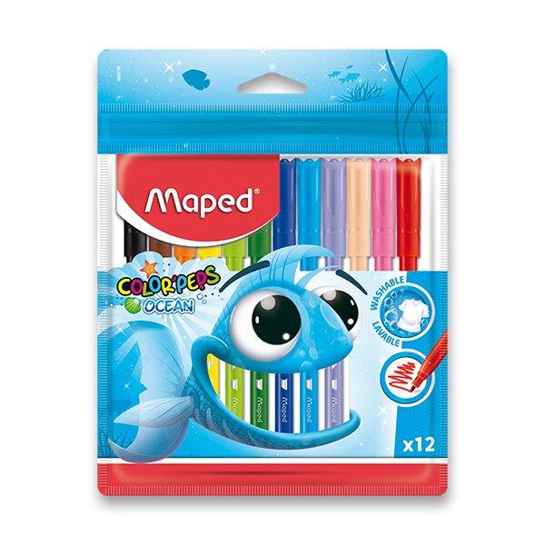 Dětské fixy Maped Color'Peps Ocean 12 barev