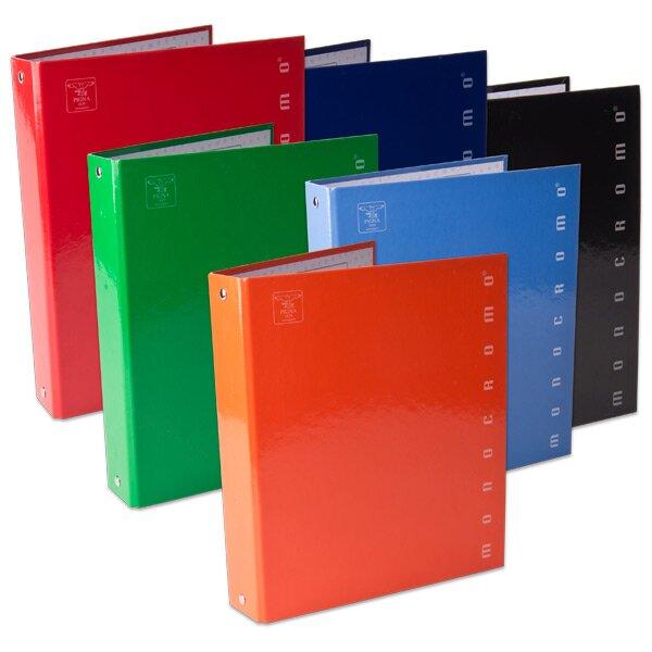 4kroužkový pořadač Pigna Monocromo A5, 35 mm, mix barev