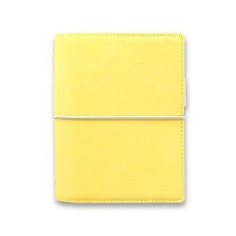 Obrázek produktu Kapesní diář Filofax Domino Soft A7 - pastelově žlutá