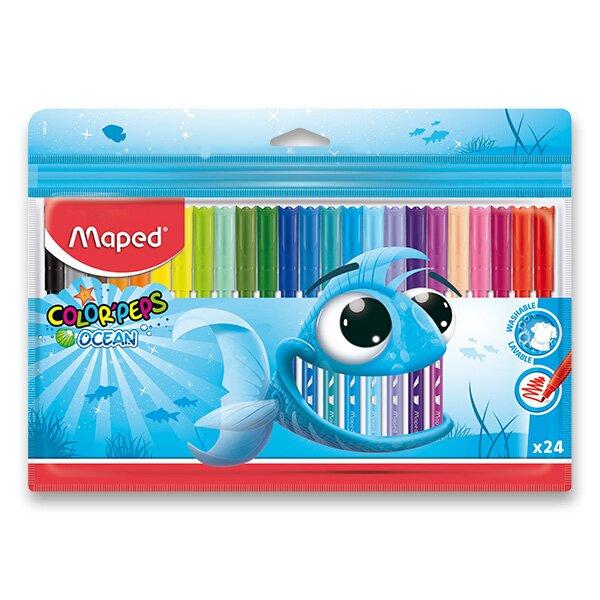 Dětské fixy Maped Color'Peps Ocean 24 barev