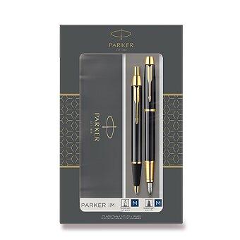 Obrázek produktu Parker IM Black GT - sada plnicí pero a kuličková tužka