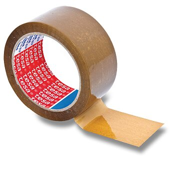 Obrázek produktu Balicí páska Tesa nehlučná - 50 mm x 66 m, hnědá