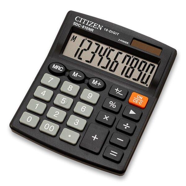 Stolní kalkulátor Citizen CDC-810NR