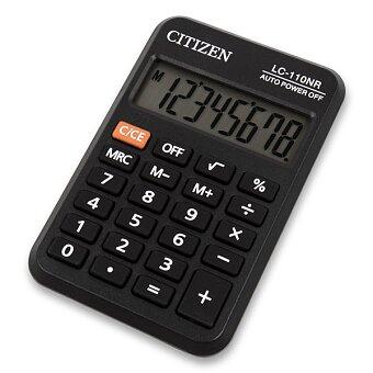Obrázek produktu Kapesní kalkulátor Citizen LC-110NR
