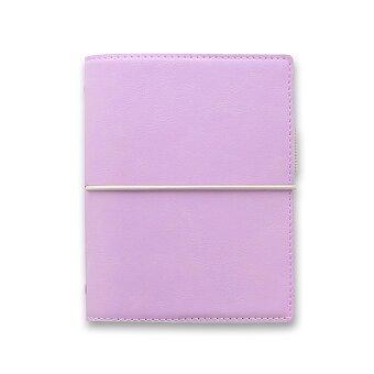 Obrázek produktu Kapesní diář Filofax Domino Soft A7 - pastelové fialová