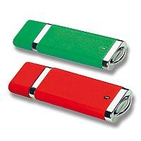 USB I. - USB s krytkou, velikost 2 GB, výběr barev