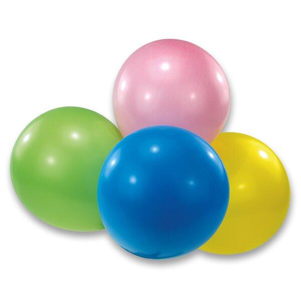 Nafukovací latexové balónky maxi, 4 ks