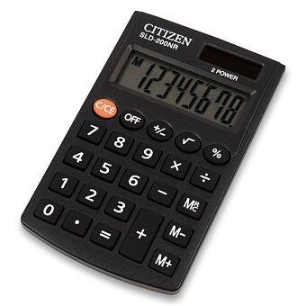 Obrázek produktu Kapesní kalkulátor Citizen SLD-200NR