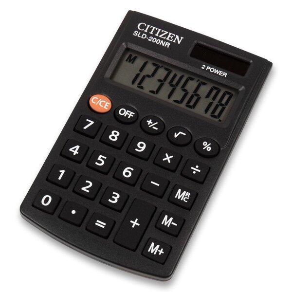 Kapesní kalkulátor Citizen SLD-200NR