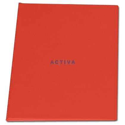 Obrázek produktu PP Sporo - spisové desky - červené, boční vnitřní kapsy