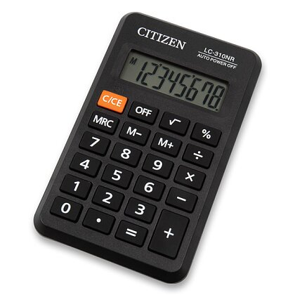 Obrázek produktu Citizen LC-310NR - kapesní kalkulátor